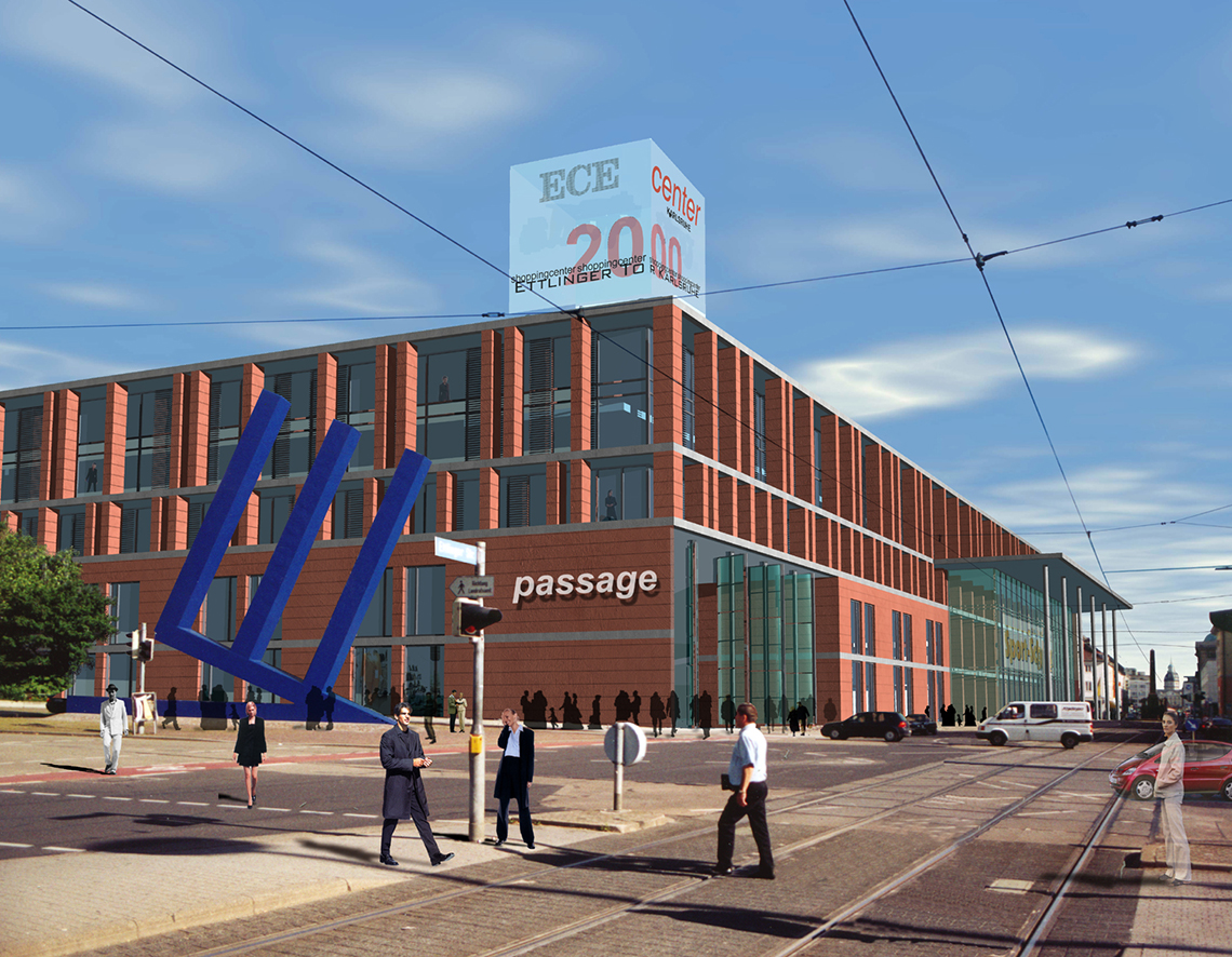planfabrik sps ece center karlsruhe. Black Bedroom Furniture Sets. Home Design Ideas